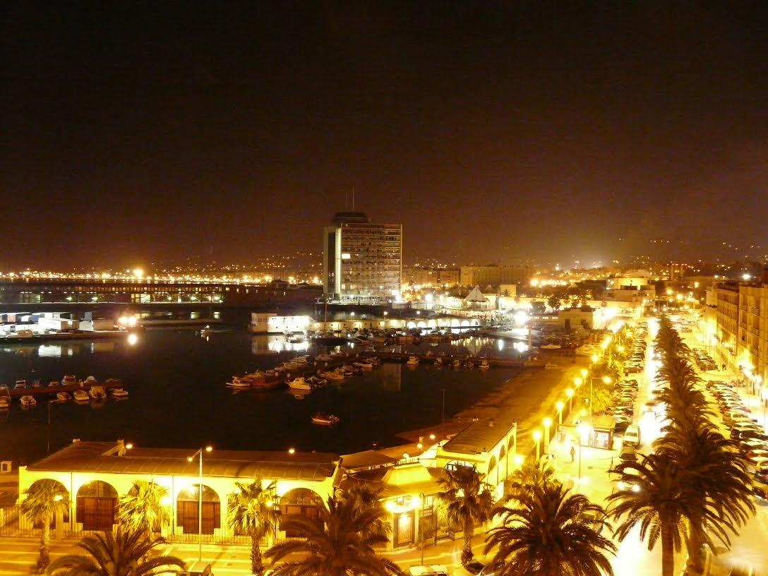La noche en Melilla.