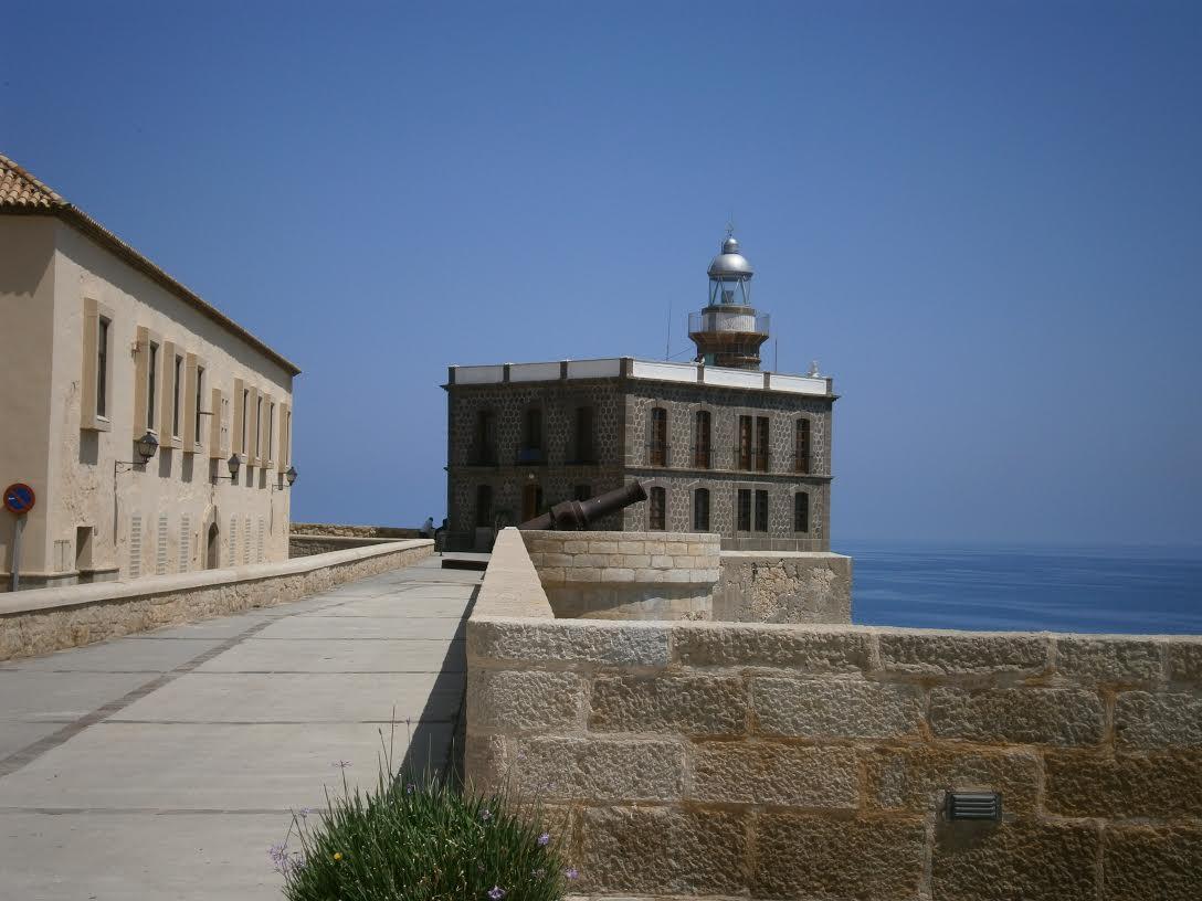 Faro de Melilla.