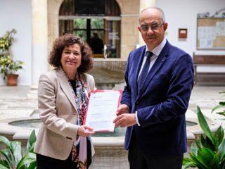 Pilar Aranda, única candidata a las elecciones del 8 de mayo