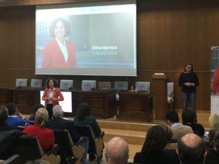 Más de 200 personas arropan a Pilar Aranda en el acto de apertura de campaña