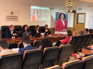 Pilar Aranda visita los campus universitarios de Ceuta y Melilla